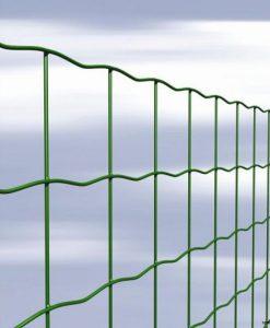 Ponthegesztett zöld kerítés hálók