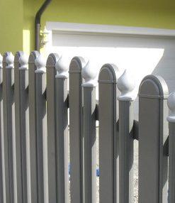 Alumínium kerítésépítő profilok