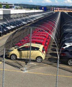 autók védelme jégeső ellen